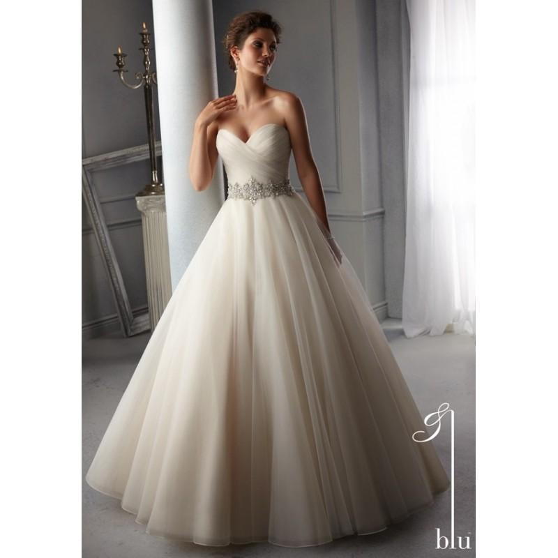 5276 002 (mori lee) - vestidos de novia 2017 #2696658 - weddbook
