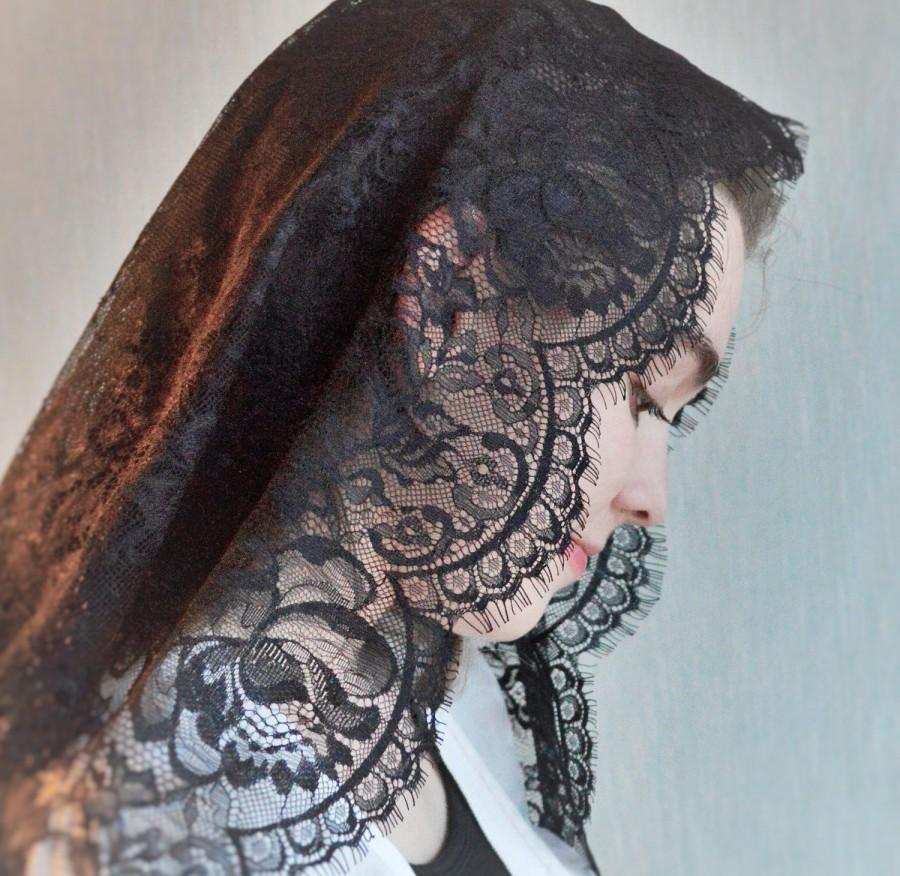 Hochzeit - Black Spanish Mantilla