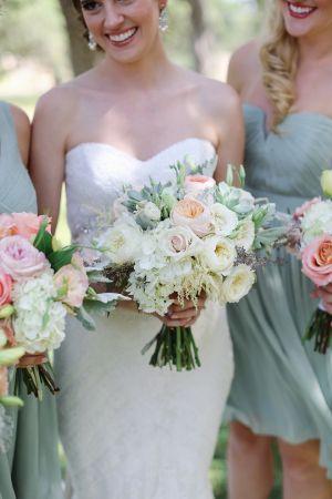 Wedding - Romantic Mint   Peach Wedding