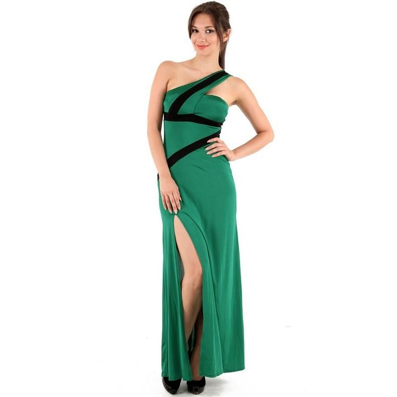 Свадьба - Cute Sheath Sleeveless Chiffon Floor-length One Shoulder Homecoming Dresses In Canada Homecoming Dress Prices - dressosity.com
