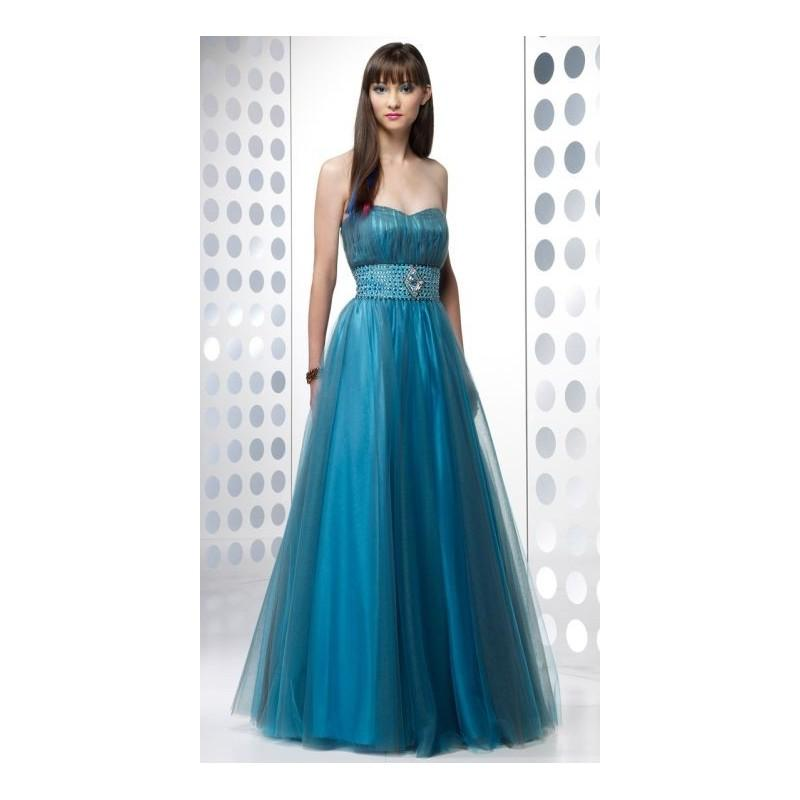 Wedding - BDazzle Two Tone Ball Gown Prom Dress 35399 by Alyce - Brand Prom Dresses