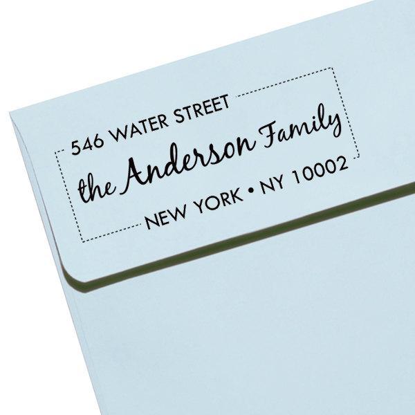 "Hochzeit - Personalized Self Inking Stamp Wedding Gift, Return Address, Etsy Shop Labels ""Name44"""