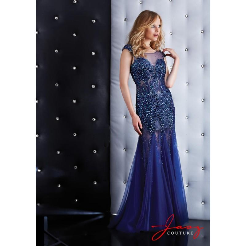 Wedding - Jasz Couture 5404 Gown with Draped Skirt - Brand Prom Dresses