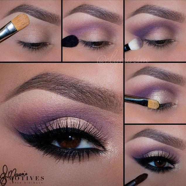 Свадьба - Eye Makeup Pictorial /tutorial