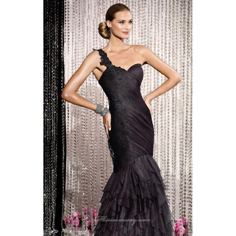 Wedding - Asymmetrical Mermaid Dresses by Alyce Black Label 5577 - Bonny Evening Dresses Online
