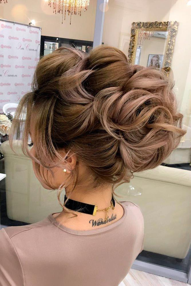 Hair 18 Chic Updo Hairstyles For Bridesmaids 2697958 Weddbook