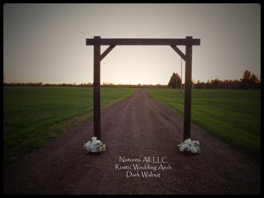 Rustic Wedding Arch.Outdoor Wedding Arch Arbor Compete Kit For Outdoor Weddings Rustic