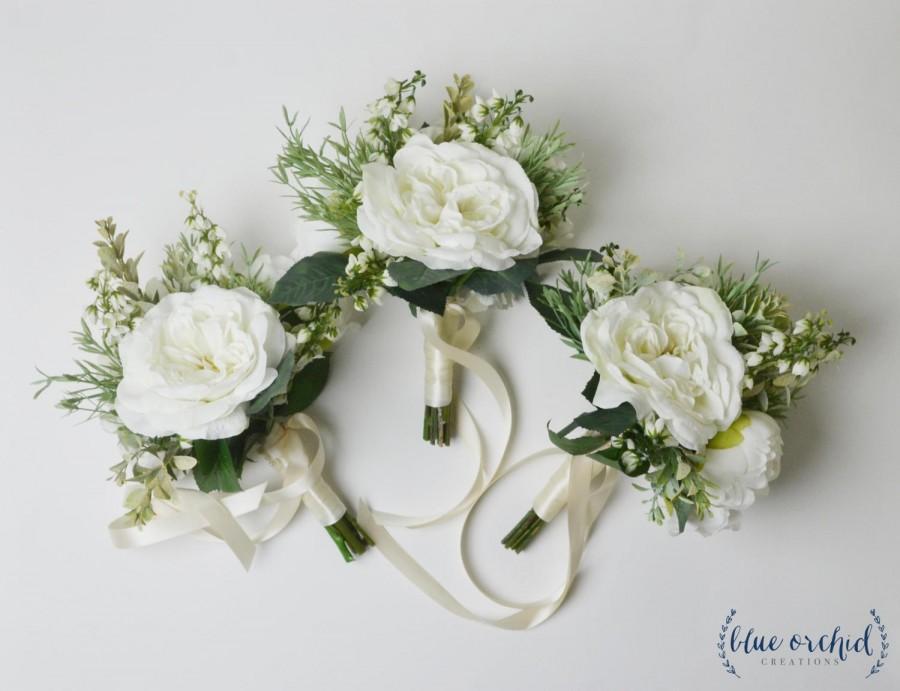 Bridesmaid Bouquet Boho Bridesmaid Bouquet Greenery Bouquet