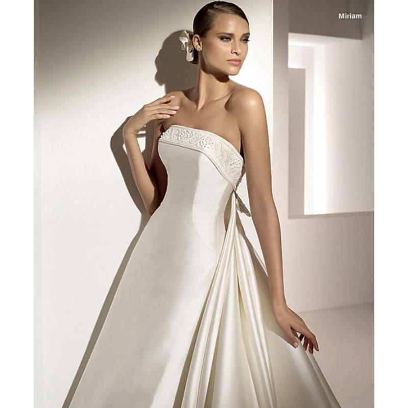Wedding - Pronovias Miriam Bridal Gown (2010) (PR10_MiriamBG) - Crazy Sale Formal Dresses