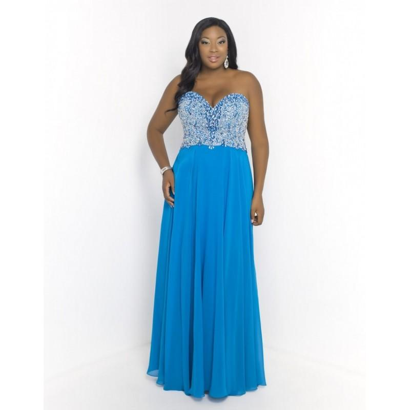 Blush Too 9950W Plus Size Formal Gown - Brand Prom Dresses #2698529 ...