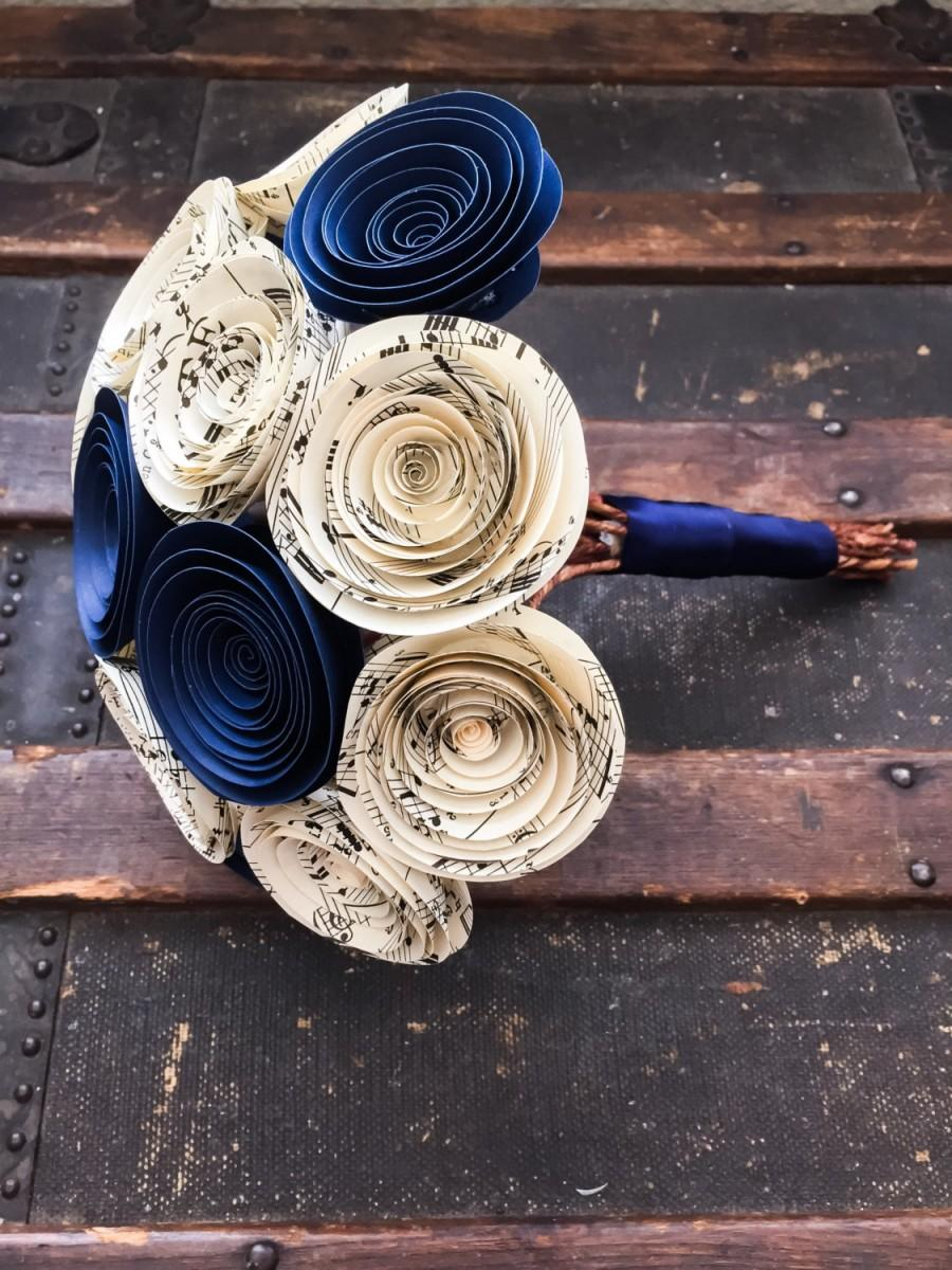 Wedding Flowers Paper Flower Bouquet Wedding Bouquet Alternative