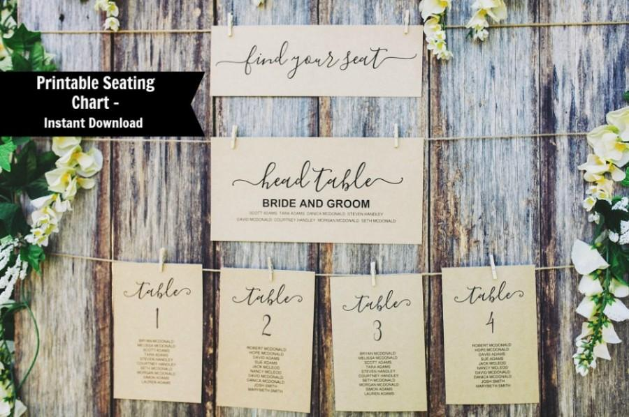 editable table seating chart template printable wedding table