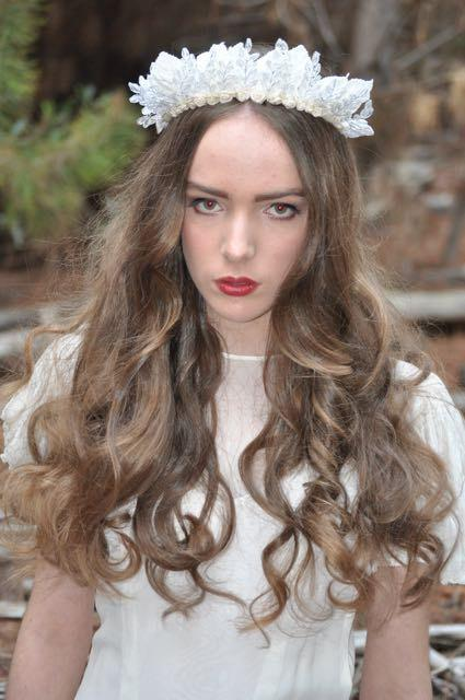 Mariage - Bridget bridal boho Bride only one  miss haidee millinery