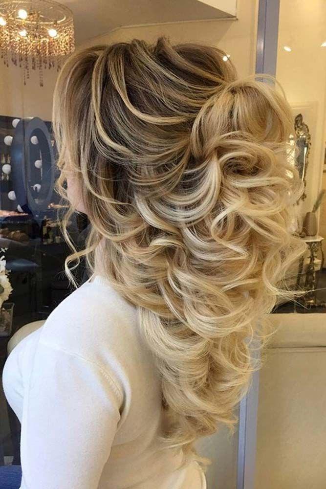21 Chic Half Up Half Dow Bridesmaid Hairstyles 2698711