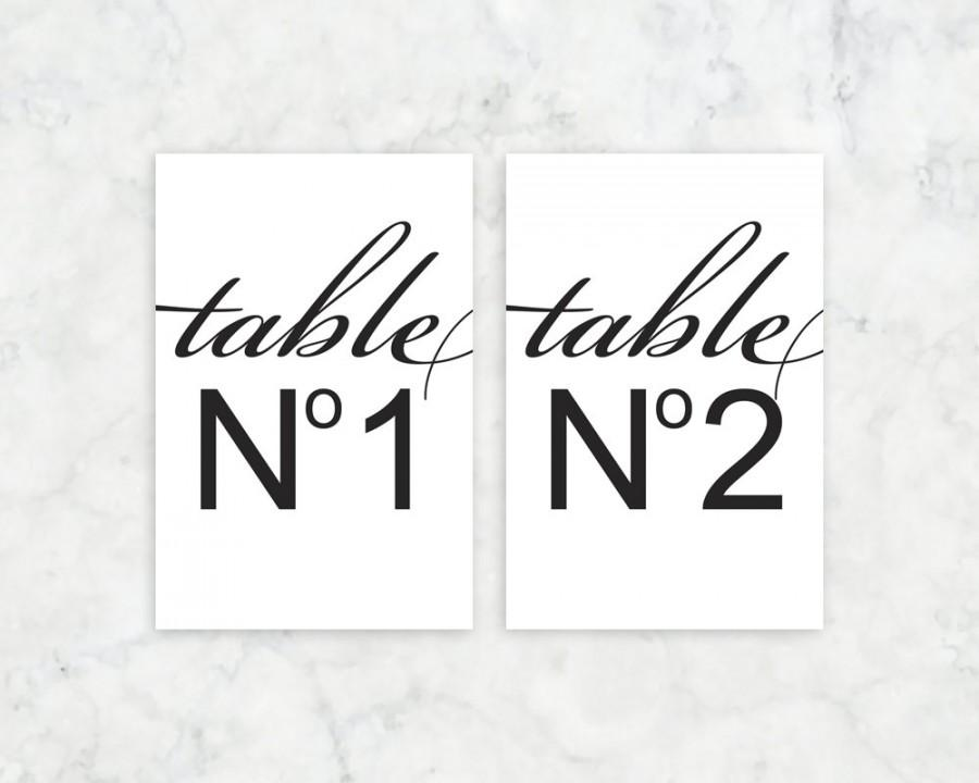 chanel no 5 inspired table number signs printable chanel number 5