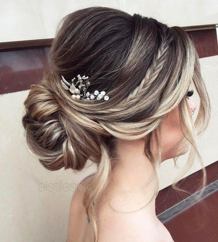 Elegant Simplicity Updo Wedding Hairstyle To Inspire Your Big Day