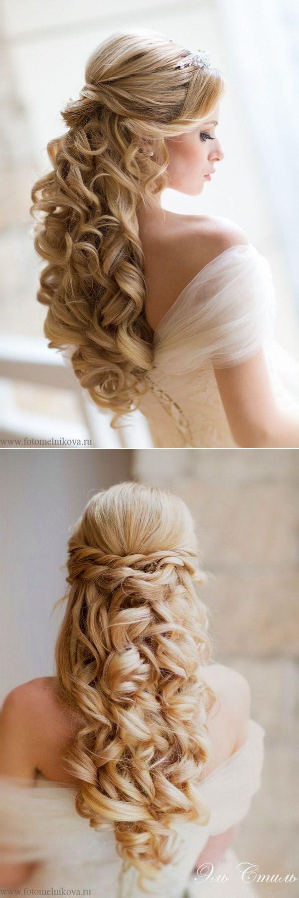 Hochzeit - Romantic Wedding Hairstyles Best Photos