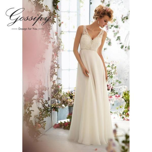 زفاف - Boho Wedding Dress Bohemian Wedding Dresses