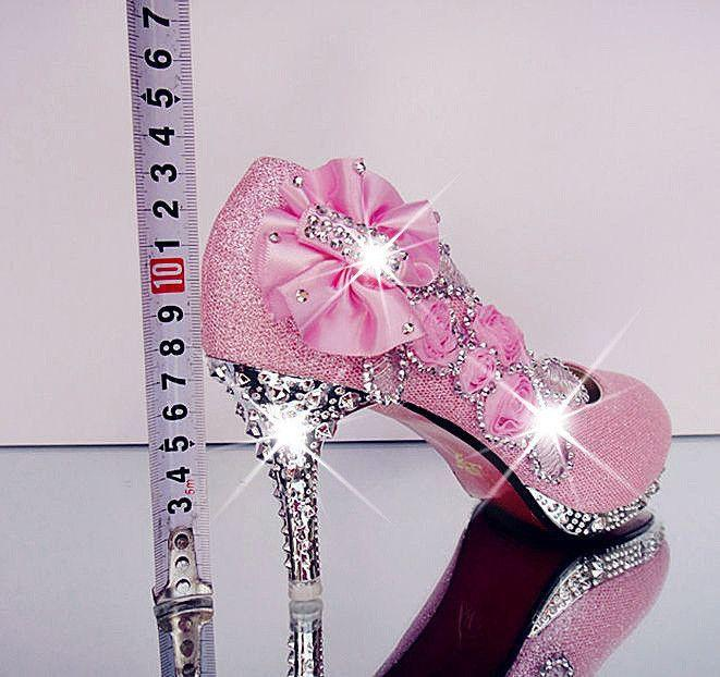 Nozze - Wedding Shoes Rhinestone Glitter Shoes At Bling Bries Bouquet - Online Bridal Store