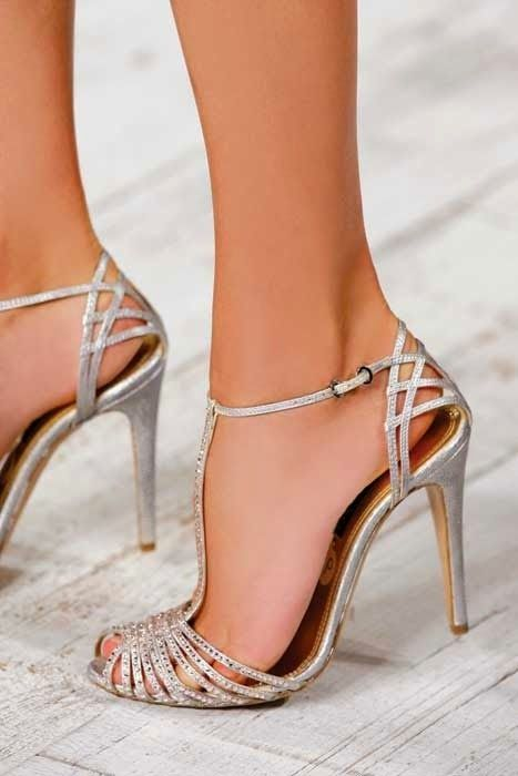 Wedding - Pretty Silver Heels