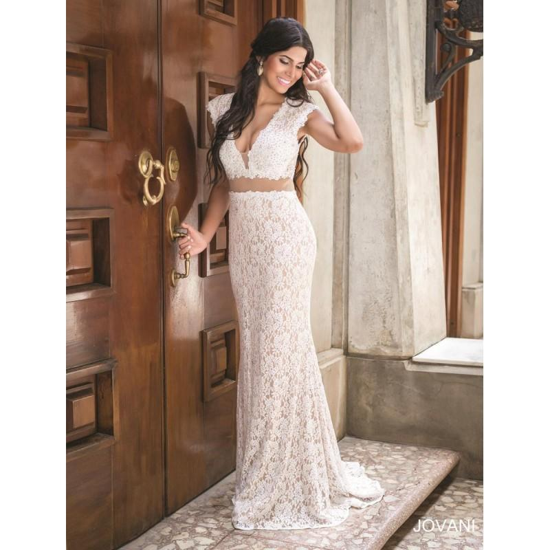 Boda - Navy/Nude Jovani Prom 31050 - Brand Wedding Store Online