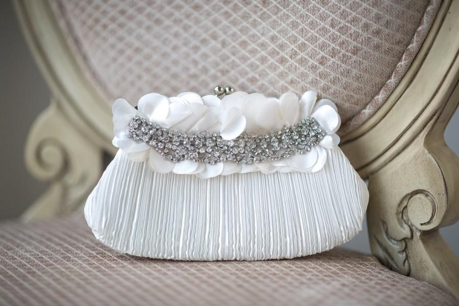 Hochzeit - Bridal Purse, Bridal Handbag, Wedding purse,