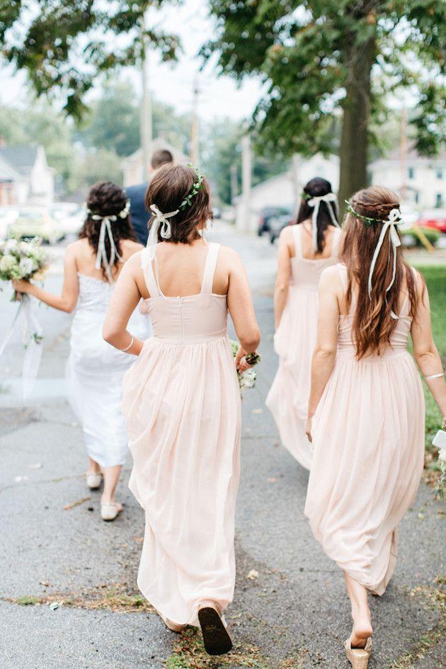 Wedding - Cool Modern Wedding With Foliage Decor & DIY Details