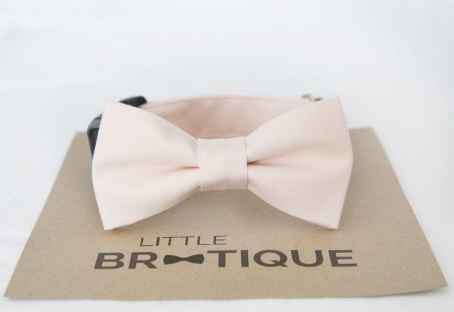 Hochzeit - Blush/Petal Dog Bow Tie Sent 3-5 days after you order