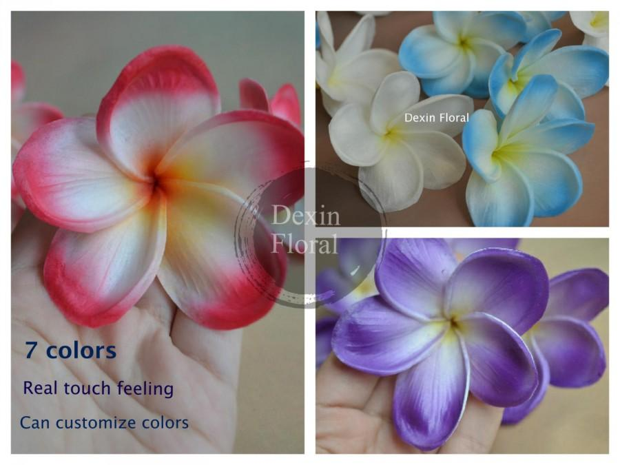 7 colors natural real touch whiteblue artificial silk frangipani natural real touch whiteblue artificial silk frangipani plumerias flower heads for cake decoration mightylinksfo