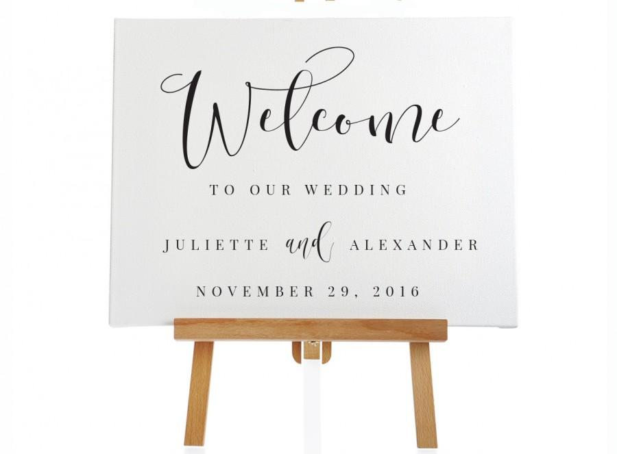 instant download printable welcome signage 4 sizes editable pdf diy