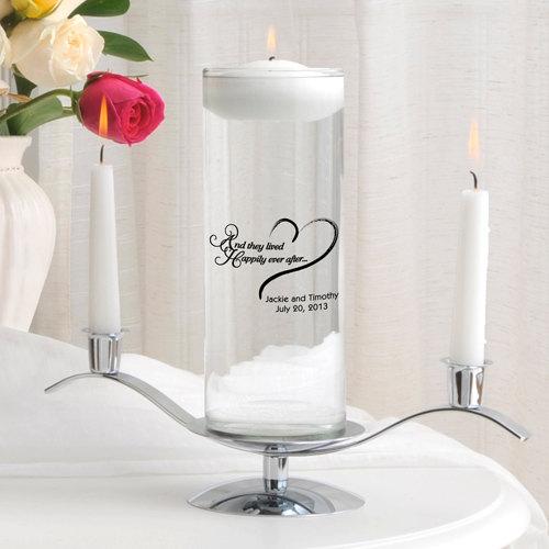 Mariage - Floating Unity Candle Set , Unity Candle Set , Custom Unity Candle , Wedding Candle ,  Many Designs, Wedding Vase