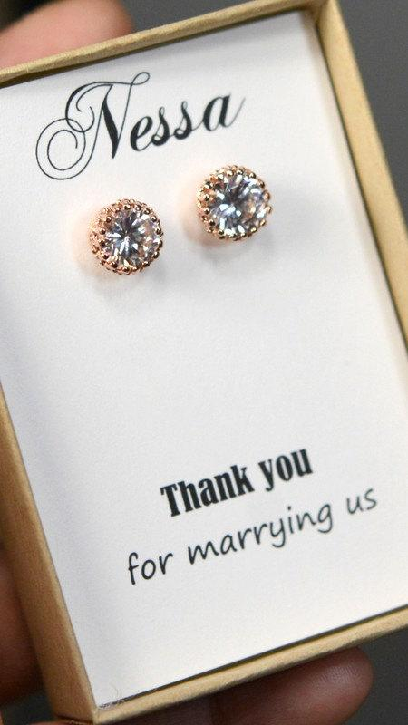 Wedding Gift Card To Your Officiant Thank You For Marrying Us
