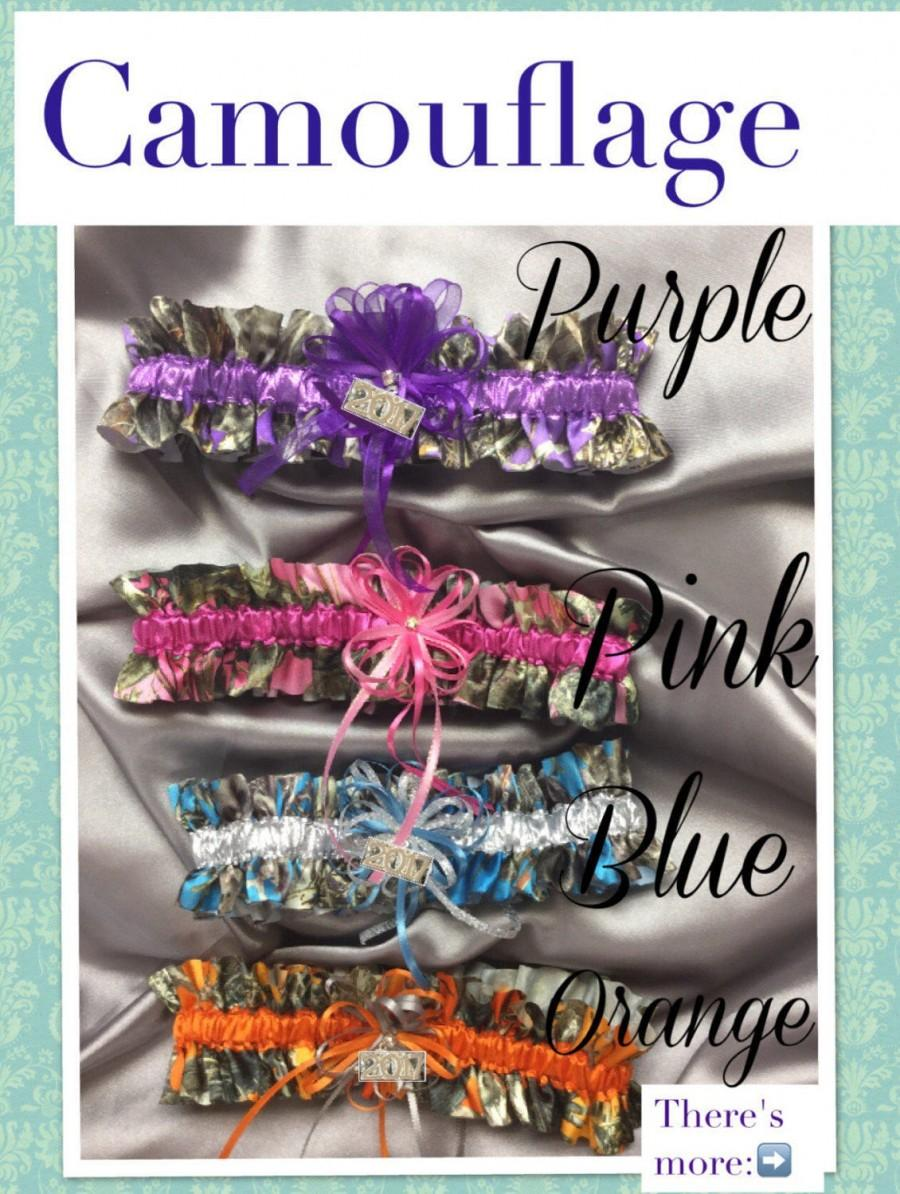 Mariage - TrueTimber Mossy Oak Camouflage Prom/Wedding Garters