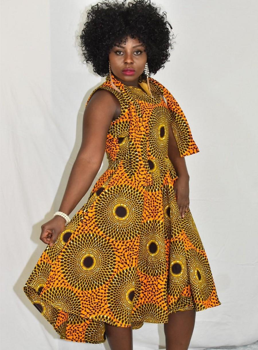 Wedding - Custom Order Elegant Wear,Women's Clothing,Ankara Dress Elegant Dress,African Print Long Dress,Ankara Dress,African Ankara,African Clothing.