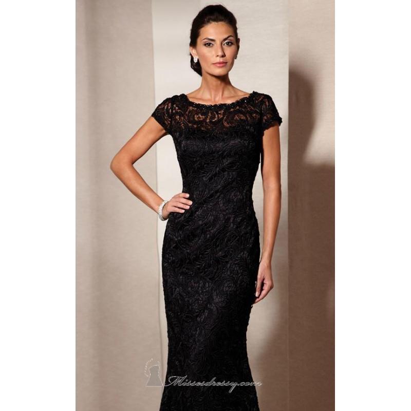 Свадьба - Long Satin and Lace Dress by Alyce Jean De Lys 29602 - Bonny Evening Dresses Online