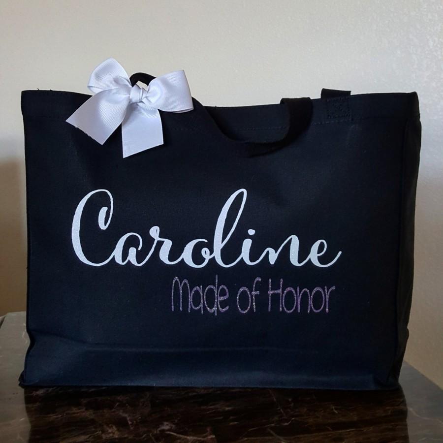 زفاف - Bride Team, Bridesmaid Bag, Custom Tote Bag, Canvas Tote Bag, Bridesmaid Gift Idea, Bridesmaid Gift, Bridesmaid Tote, Bride Tote, Wifey