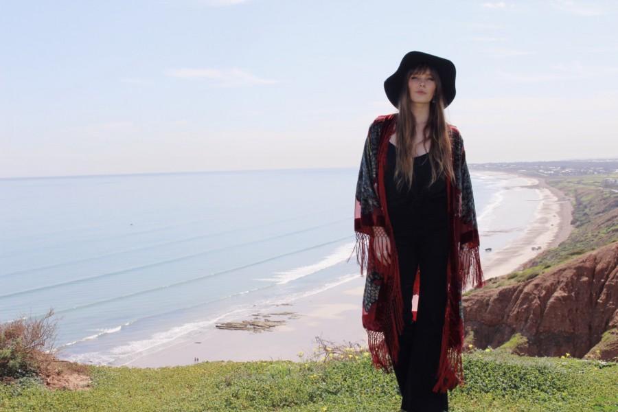 Mariage - Kimono Robe For Bride - Silk Bridal Kimono Robe - Silk Bridesmaid Kimono Robe - Bohemian Bridal Kimono - Gypsy Bridal Kimono - Velvet Robe