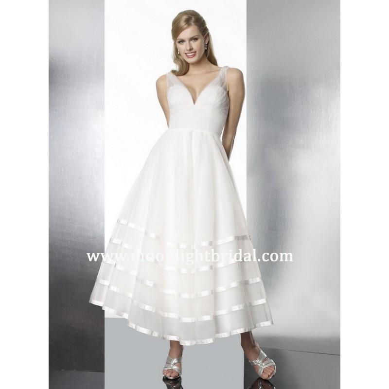 Hochzeit - Moonlight Tango T575 Bridal Gown (2013) (MN13_T575BG) - Crazy Sale Formal Dresses