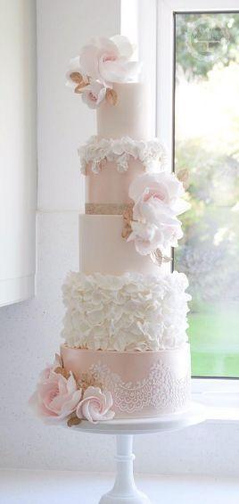 Düğün - Cotton & Crumbs Wedding Cake Inspiration