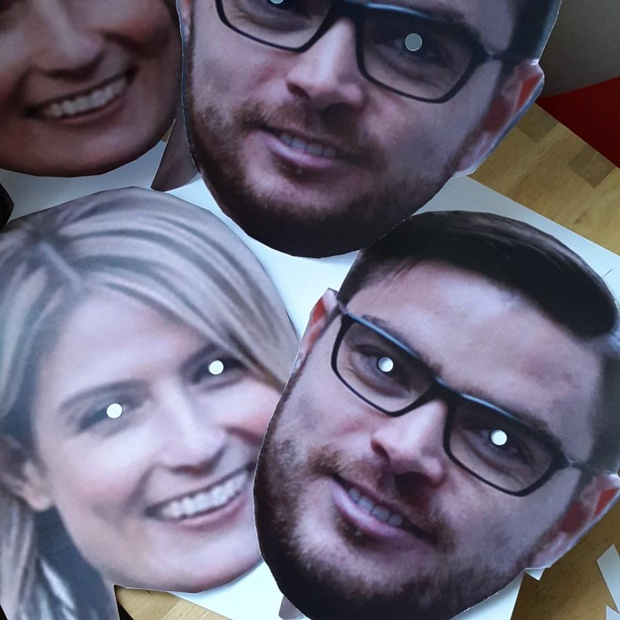 Mariage - Custom made Personalized Face Masks