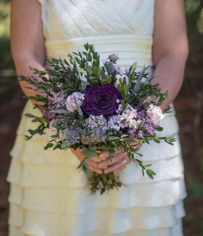 Hochzeit - Purple Bouquet