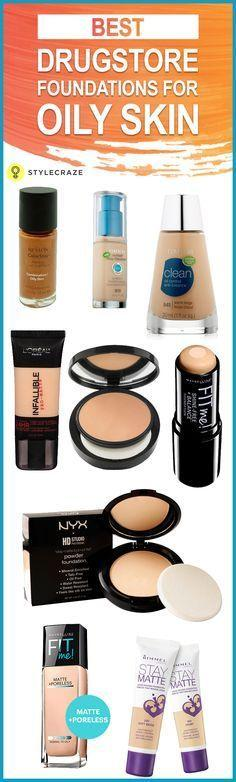 Свадьба - 10 Best Drugstore Foundations For Oily Skin
