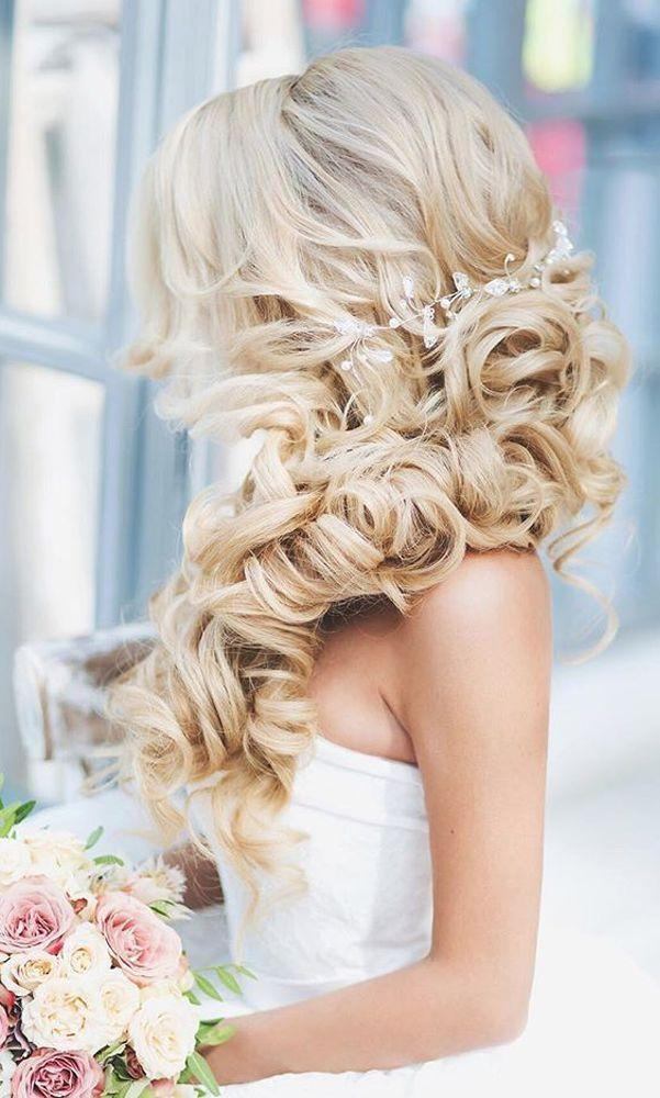 Wedding - 45 Most Romantic Wedding Hairstyles For Long Hair