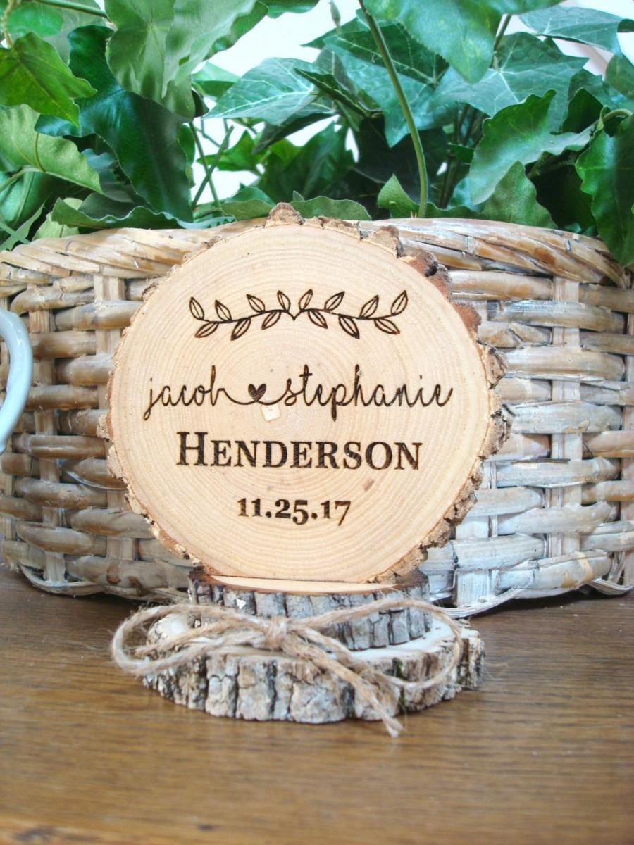 Свадьба - Rustic Cake Topper, Custom Cake Topper, Wedding Cake Topper, Wood Cake Topper, Cake Top, Engraved Cake Topper, Cake Toppers, Personalized