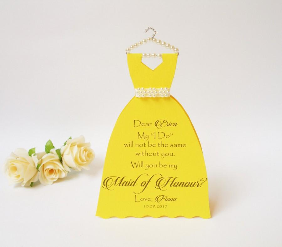 Mariage - Bridesmaid Will you be my Bridesmaid Card  Thank you for being my Bridesmaid Wedding Party Proposal Bridesmaid Card Ask Bridesmaid
