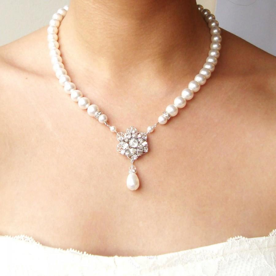 Indiangoldesigns Com Beautiful Antique Bridal Necklace: Bridal Necklace, Pearl Wedding Jewelry, Vintage Bridal
