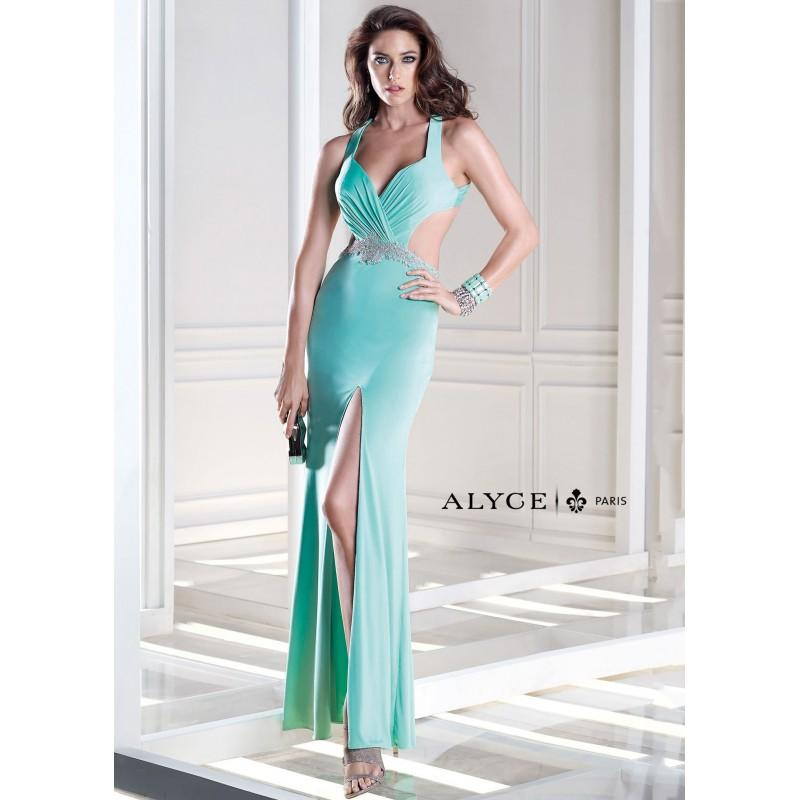 Hochzeit - Alyce B'Dazzle 35698 Cut Out Jersey Gown Website Special - 2017 Spring Trends Dresses