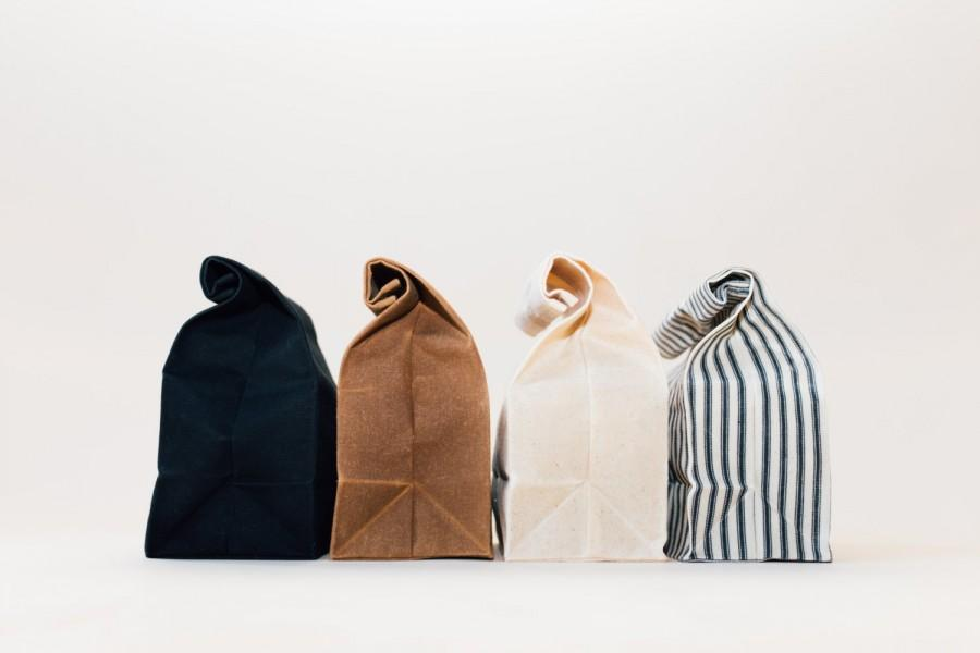Nozze - Lunch Bag // Waxed Canvas Lunch Bag