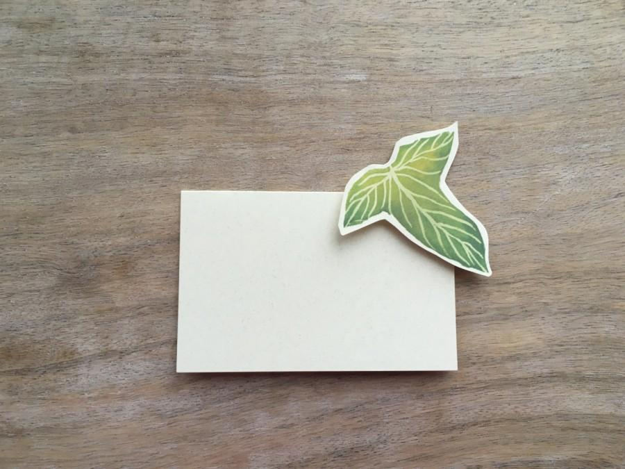Hochzeit - Lorien Leaf Lord of the rings Wedding - Escort Card - Place Card - Food Table Signage - Tag - Events, Baby shower Hobbit Wedding