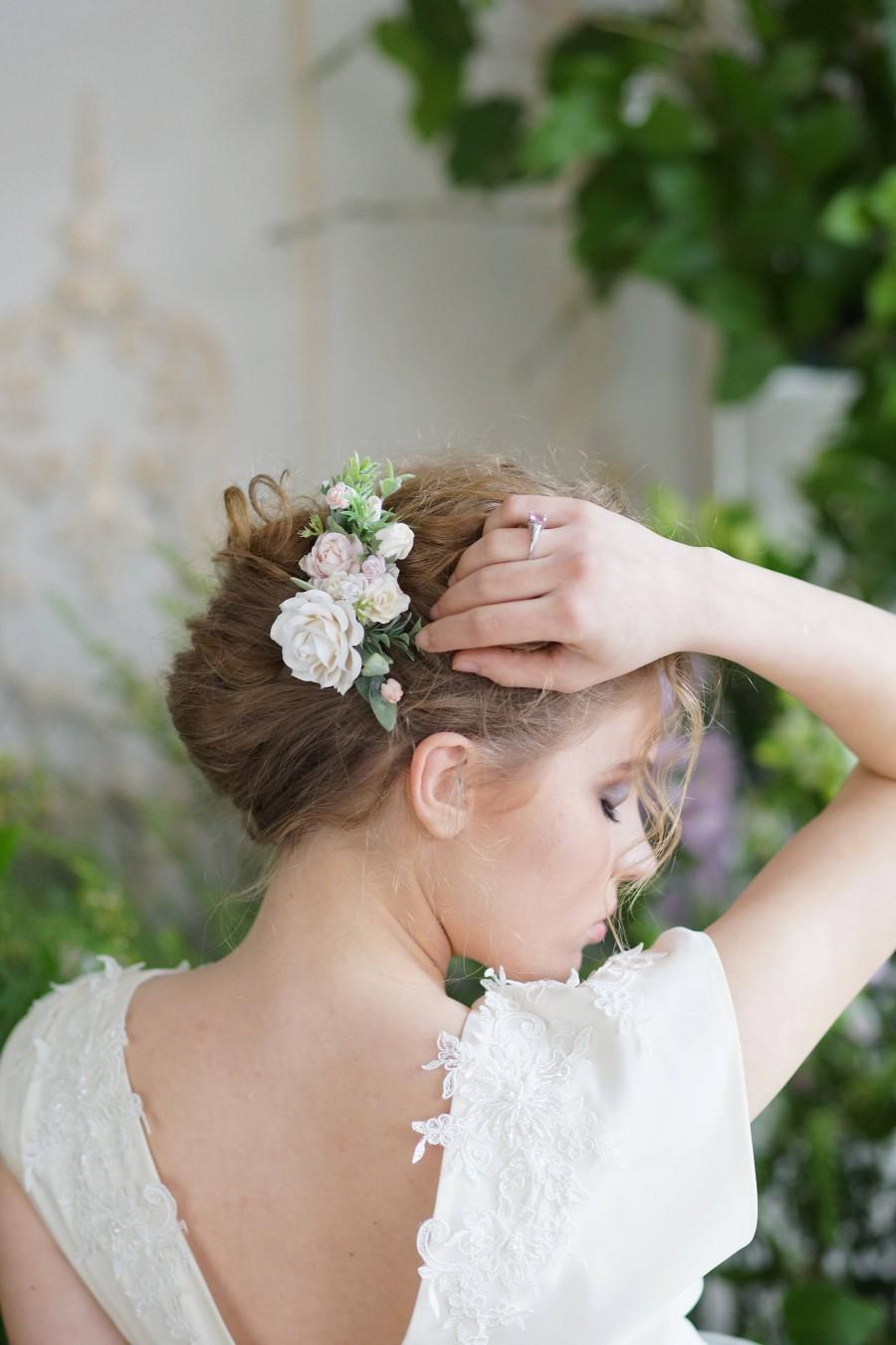 Mariage - Bridal hair comb, Wedding hair comb, bridal headpiece, Woodland  wedding, wedding headpiece, weddings, hair comb